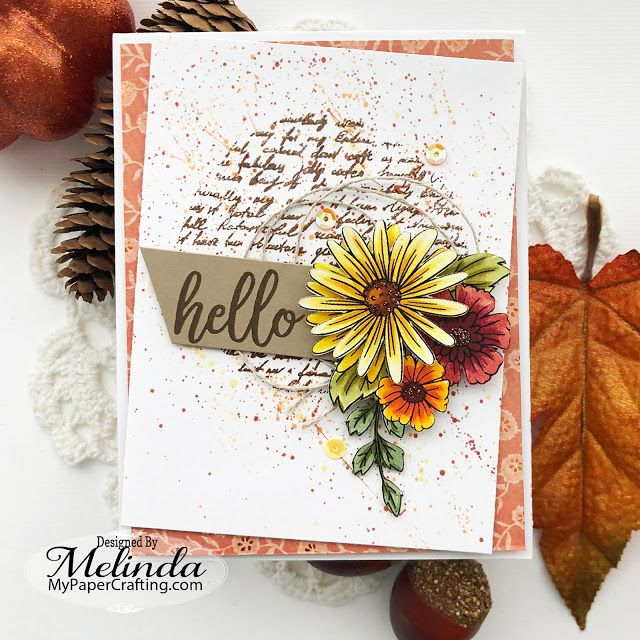 Hello Fall Card #hellofall