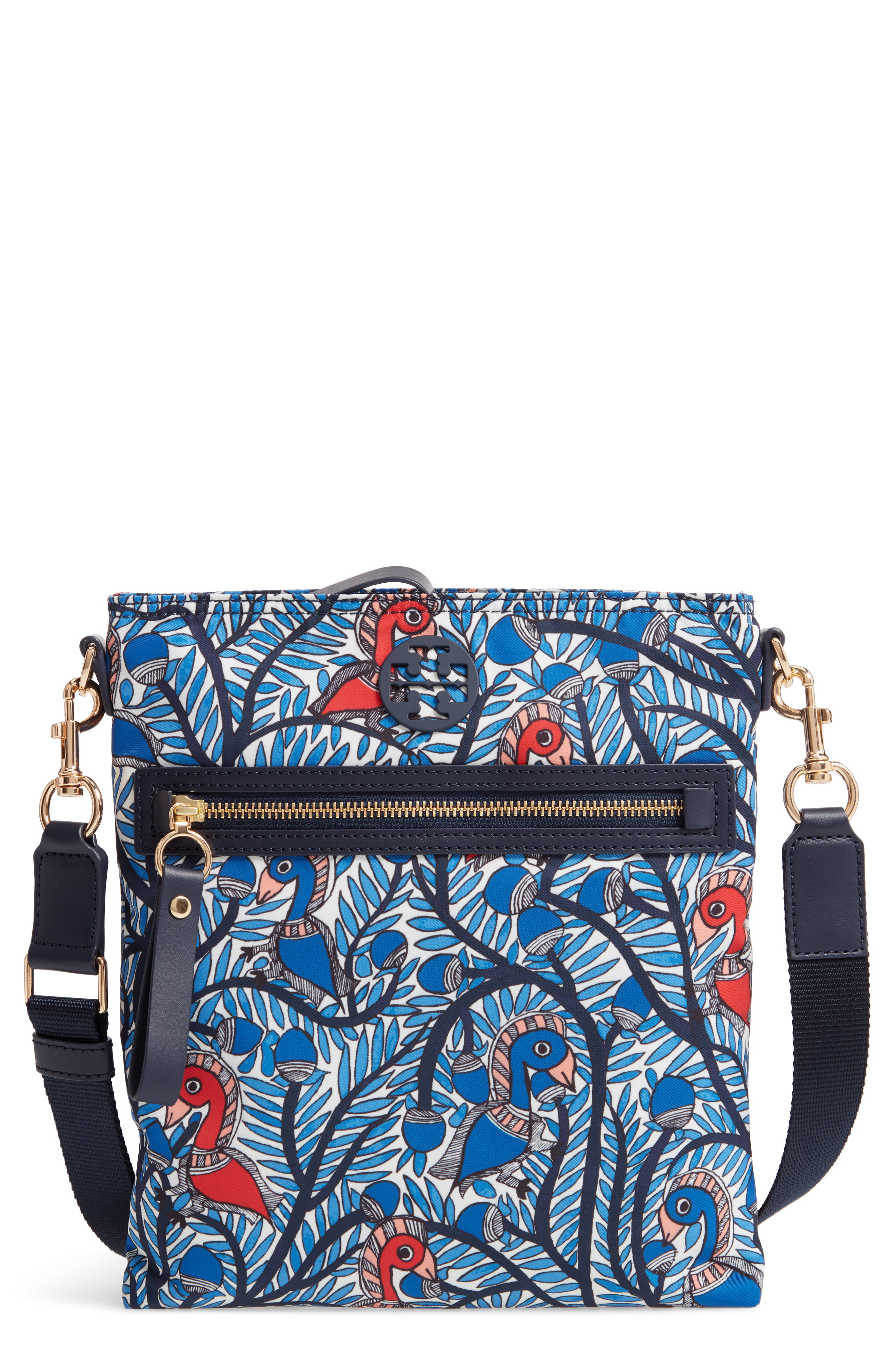 b29197fd7 Tory Burch Tilda Print Nylon Swingpack - Blue in 2019 | Products ...