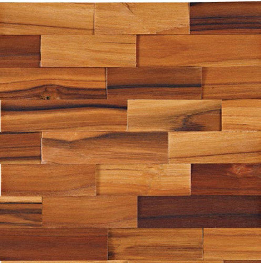 OCA BRASIL - linha rústica Tijolinho 3cm  Teca Natural. http://www.oca-brasil.com/pt/