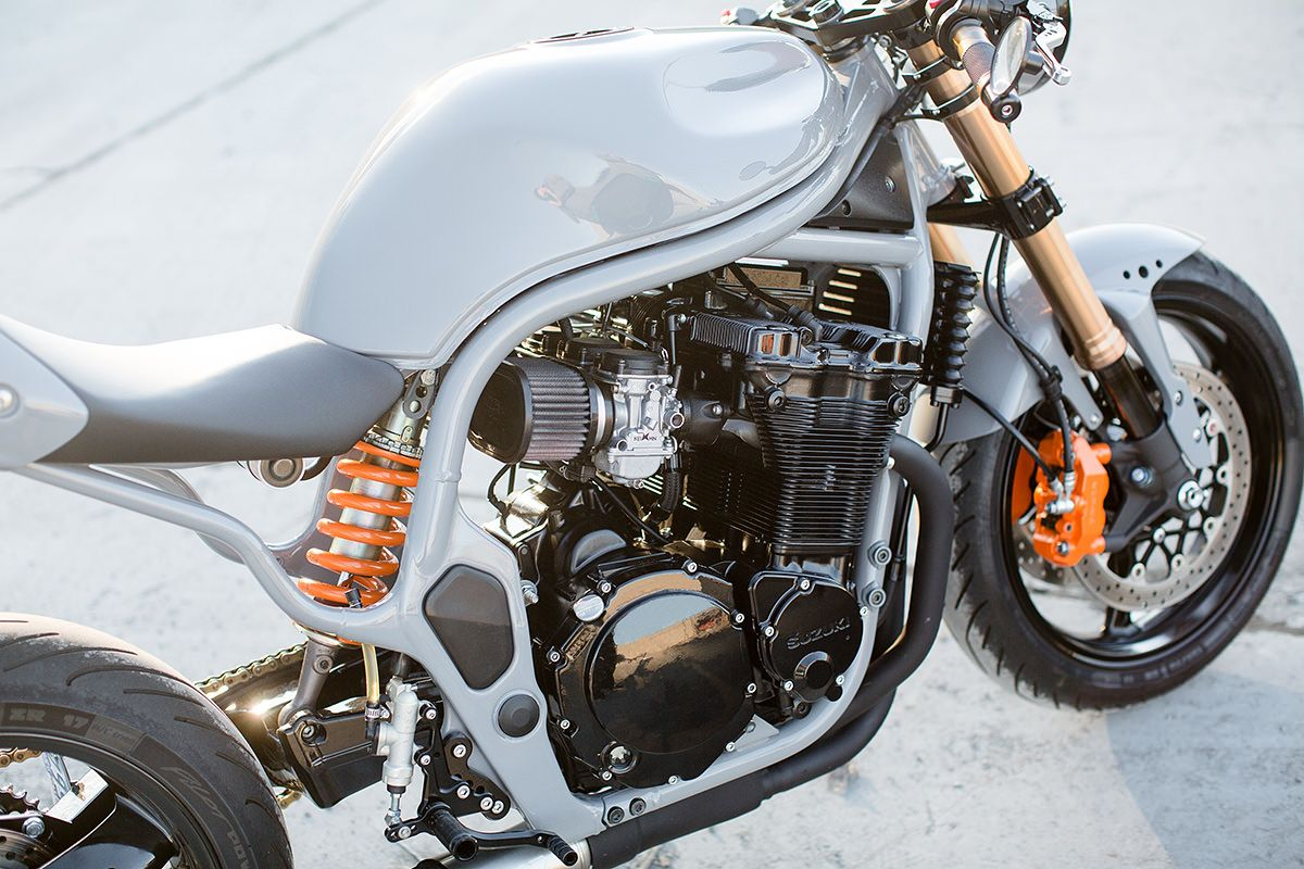 are we ready for a suzuki bandit cafe racer?   cafes, suzuki cafe