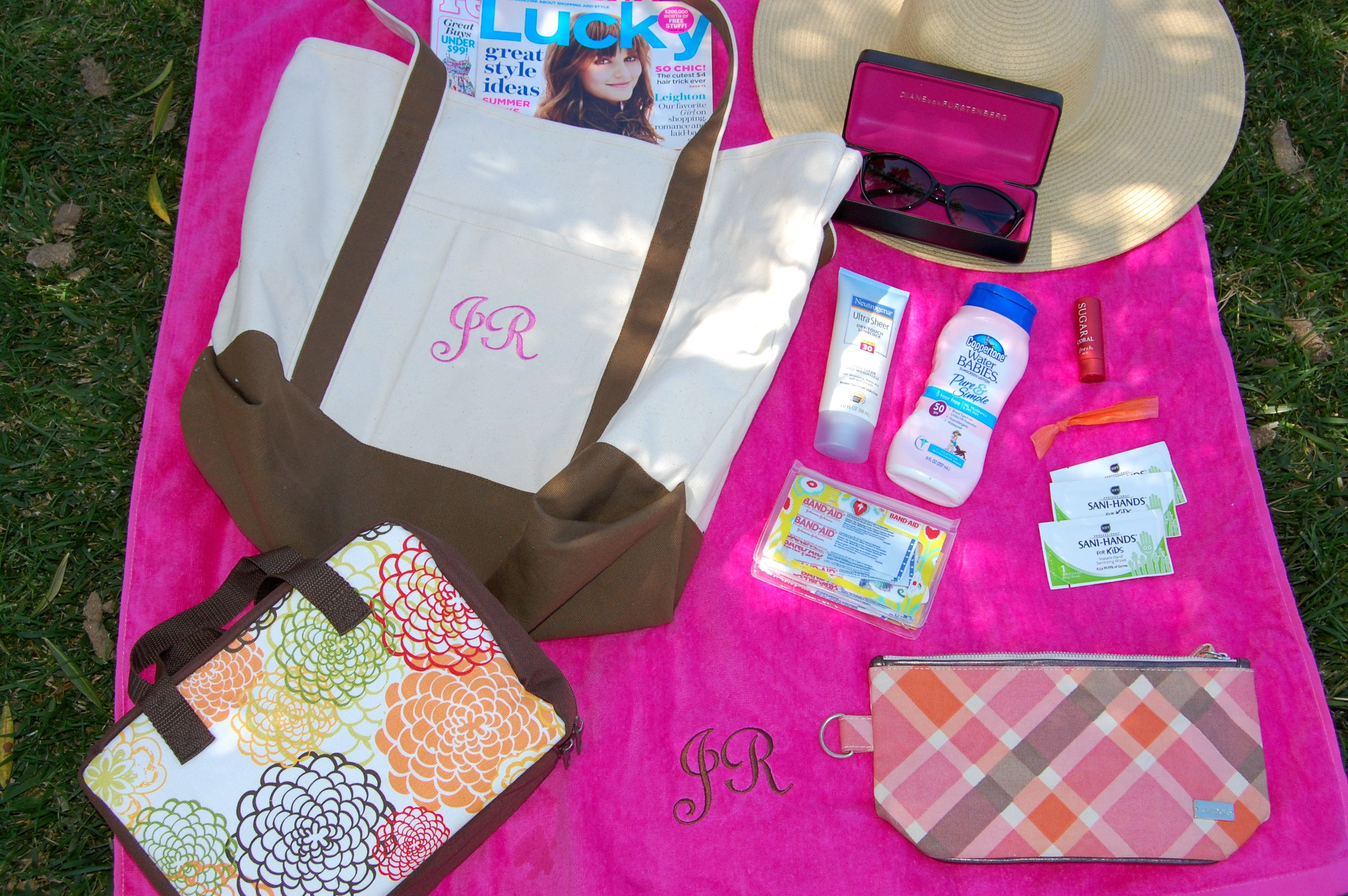 what's in your beach bag