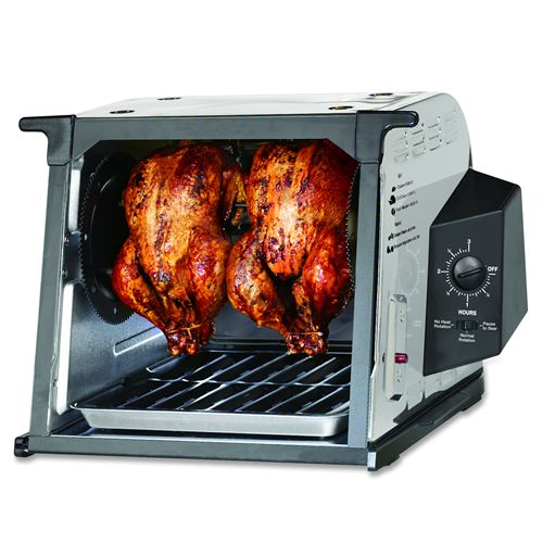 Ronco 4000 Series Stainless Steel Rotisserie Set It And
