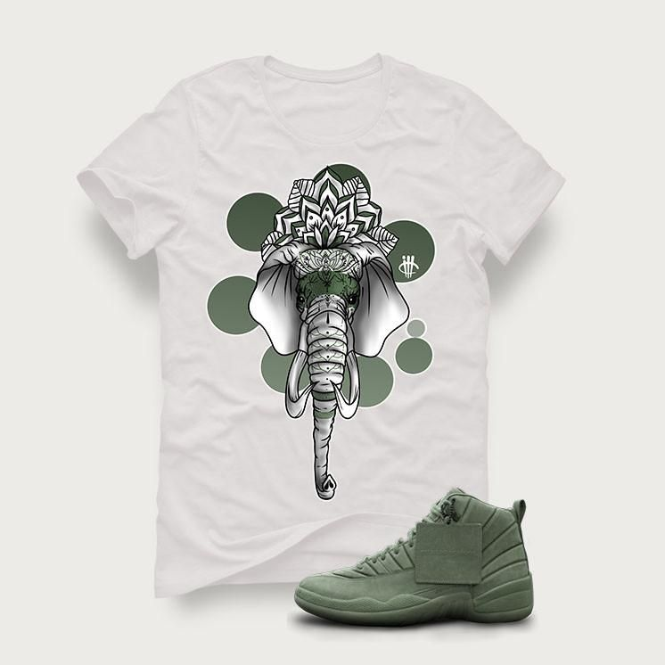 premium selection 0f571 4288b 16 Best Jordan 12 Psny Olive images   Air jordan, Air jordans, Couple shirts