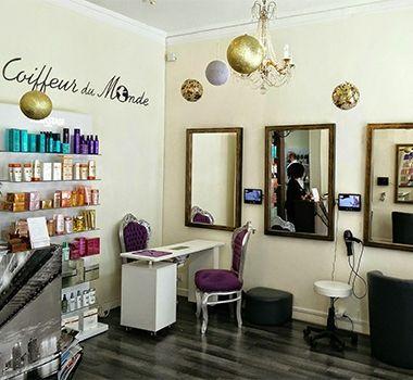 Balayage au salon de coiffure Coiffeur du Monde   salon de coiffure ...