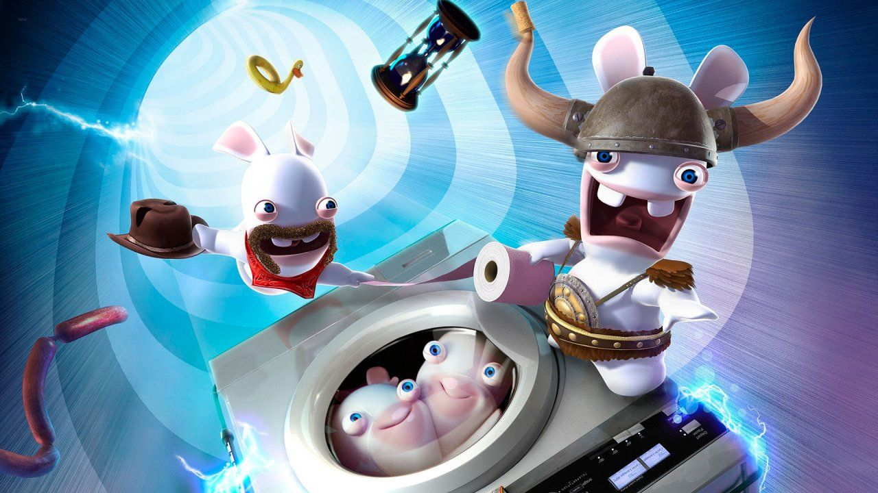 Raving Rabbids Travel In Time Wallpapers In Hd Android Wallpaper Hd Wallpaper Hd Photos