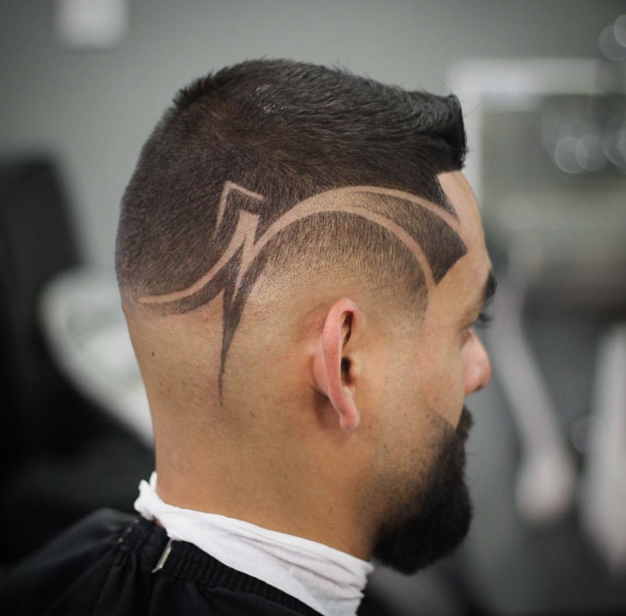 Pin By Tonyd2faded On Star Design Haircuts Barbering Pinterest