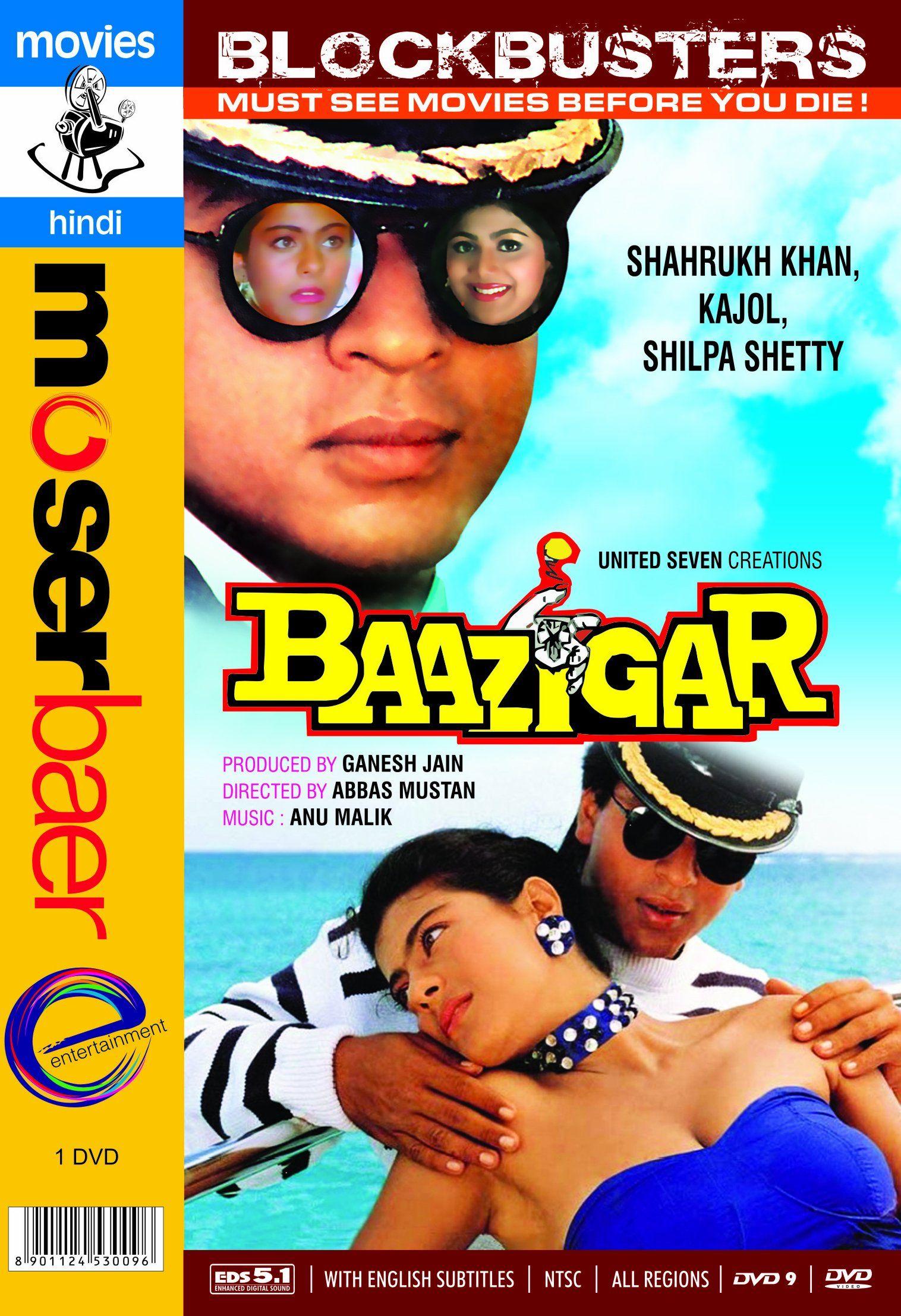 Baazigar Top 10 movies released around Diwali ever