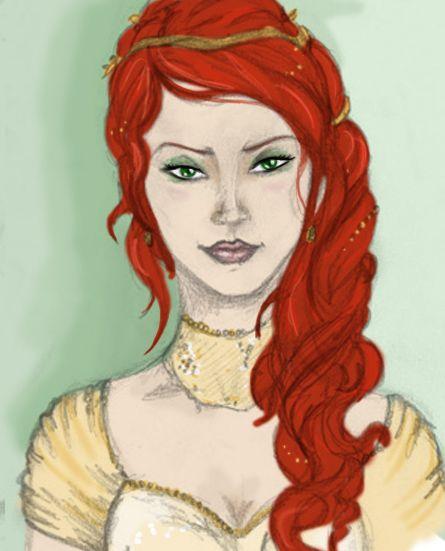 Ce'Nedra by zepheenia.deviantart.com on @deviantART #Belgariad