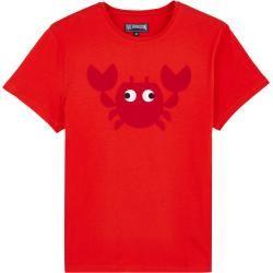 Herren Ready to Wear – Crabs T-Shirt aus Baumwolle für Herren – T-shirt – Tao – Rot – Xl – Vilebrequ