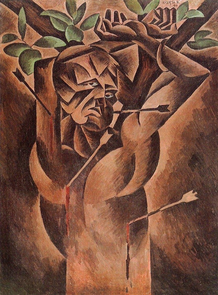 Bohumil kubišta Šebestián osma pinterest cubism and