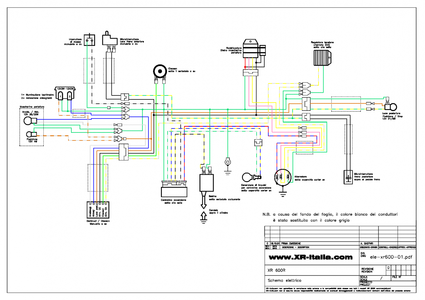 Xr600 Wiring Diagram Canopi Me Inside Diagram Motorcycle Wiring Wire