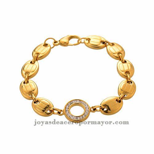 cadena con brillo de acero inoxidable por mayor para mujeres -SSBTG382393