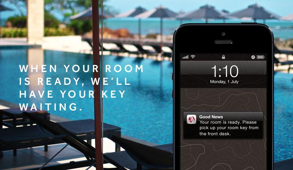 Enjoy the marriott checkin app marriott travel