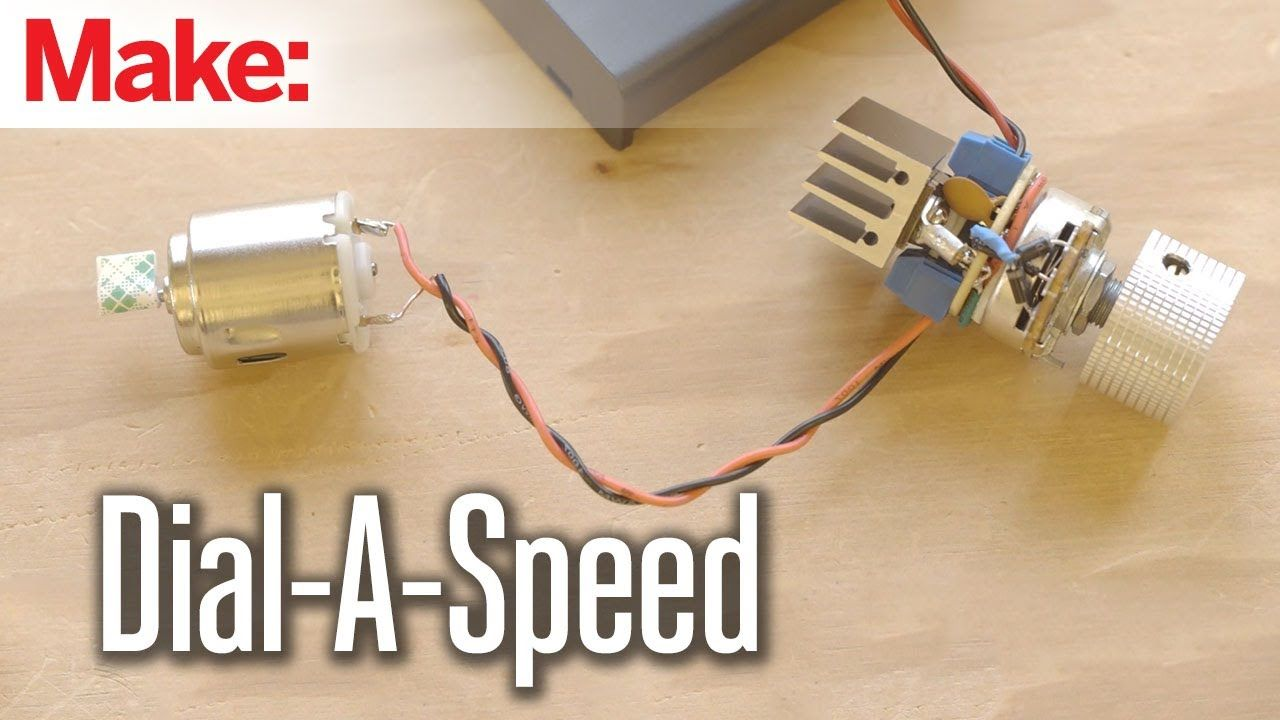Have You Ever Wondered How Can Easily Control The Speed Of An Building Simple Dc Motor Circuit Electric Lets Say One From A Toy Or Small Model Car This Tutorial