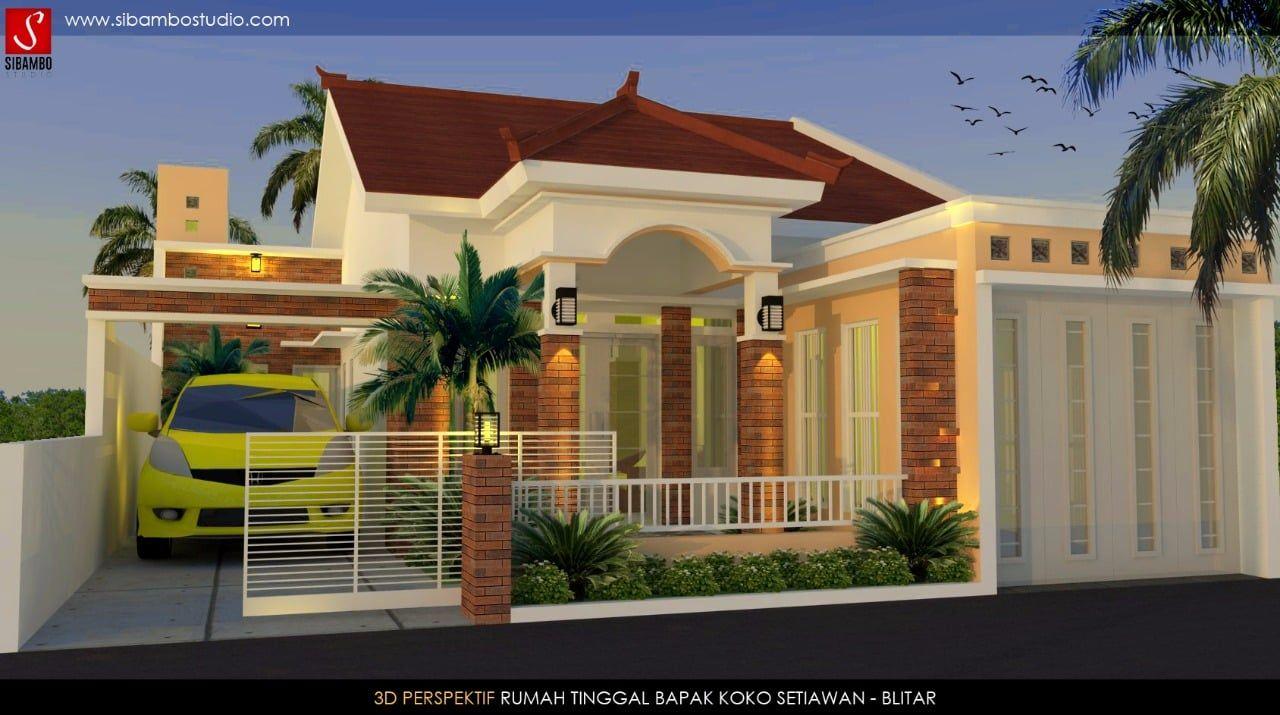 Rumah Minimalis Plus Toko Cek Bahan Bangunan