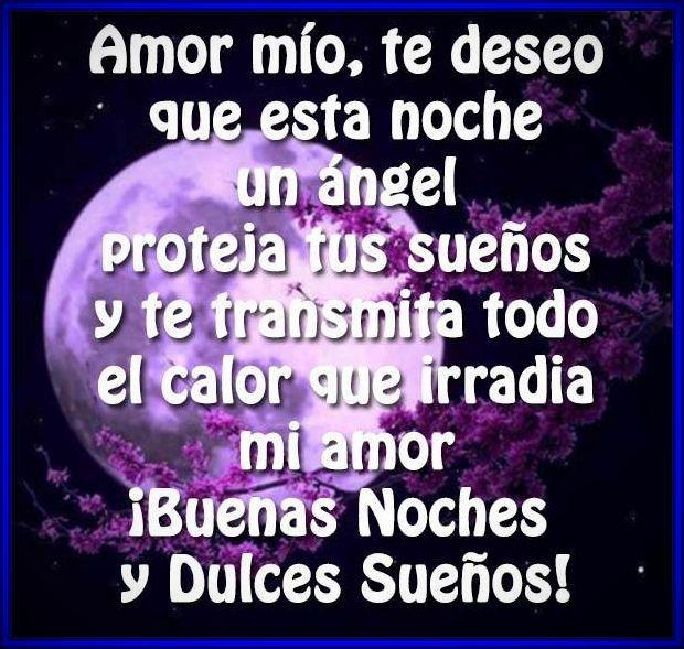 Imágenes De Buenas Noches Mi Amor Mejores Frases De Buenas