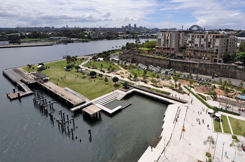 Aspect studios sydney australia pirrama park great for Architects sydney