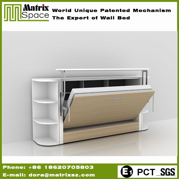 Check Out This Product On Alibaba Shenzhen Matrix Furniture Movable Horizontal Sigle Wall Folding Bed Price With Desk