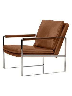 modloft charles arm chair midcentury meets modern luxe in this modloft charles arm chair this armchair boasts a sleek silhouette and premium bicast