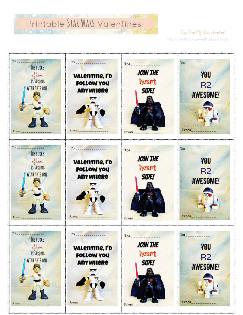 photo relating to Printable Star Wars Valentines called Printable Star Wars Valentines.pdf - Yourself R2 Amazing! Free of charge
