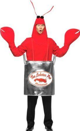 Amazon.com Adultu0027s Lobster In Pot Halloween Costume Clothing  sc 1 st  Pinterest & Amazon.com: Adultu0027s Lobster In Pot Halloween Costume: Clothing ...