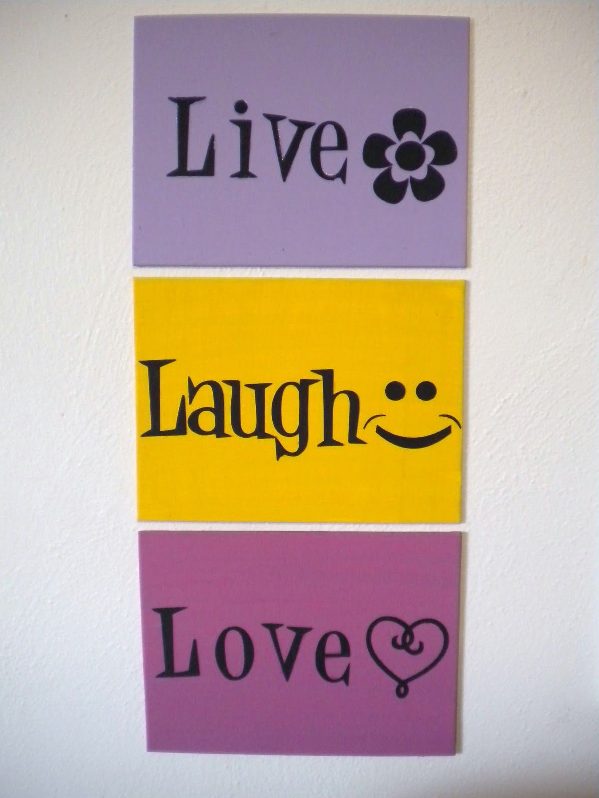 Diy Art Live Laugh Love Framesso Happy #Diy #Crafts