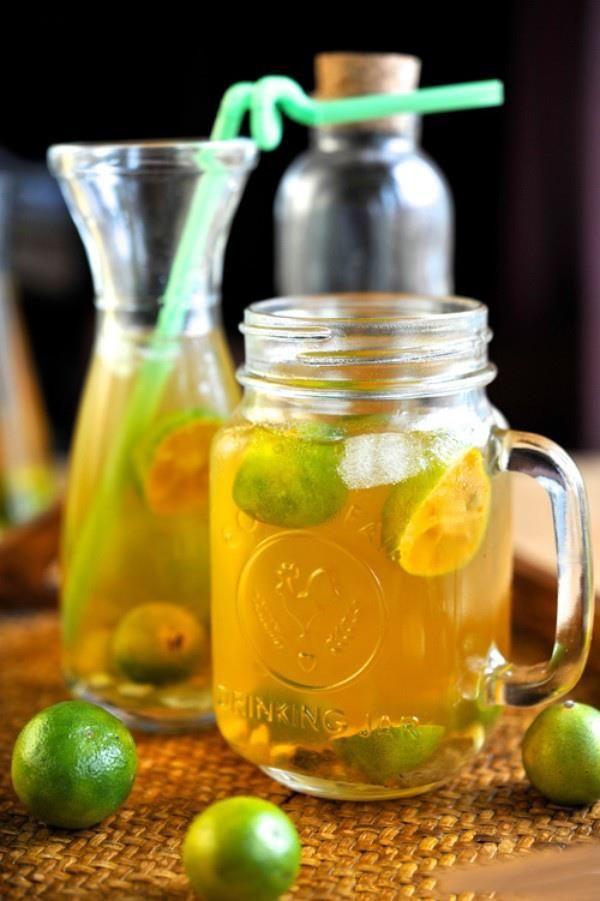 Giải khát cùng nước tắc mật ong nhé ♥ lemon honey juice