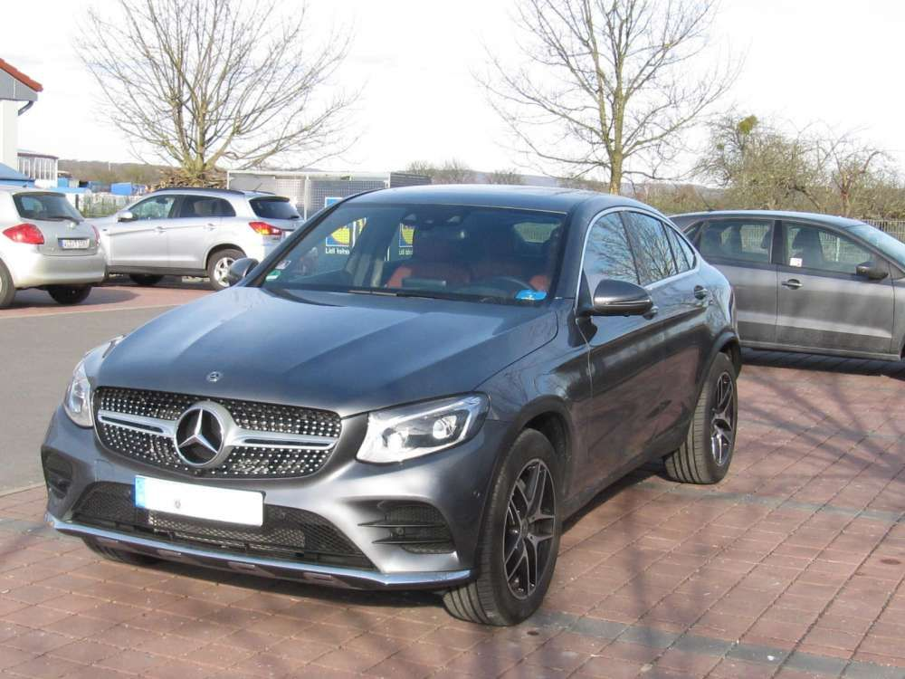 2017 Mercedes Benz Glc 250 D Coupe 4matic Suv 9g Tronic Amg Line