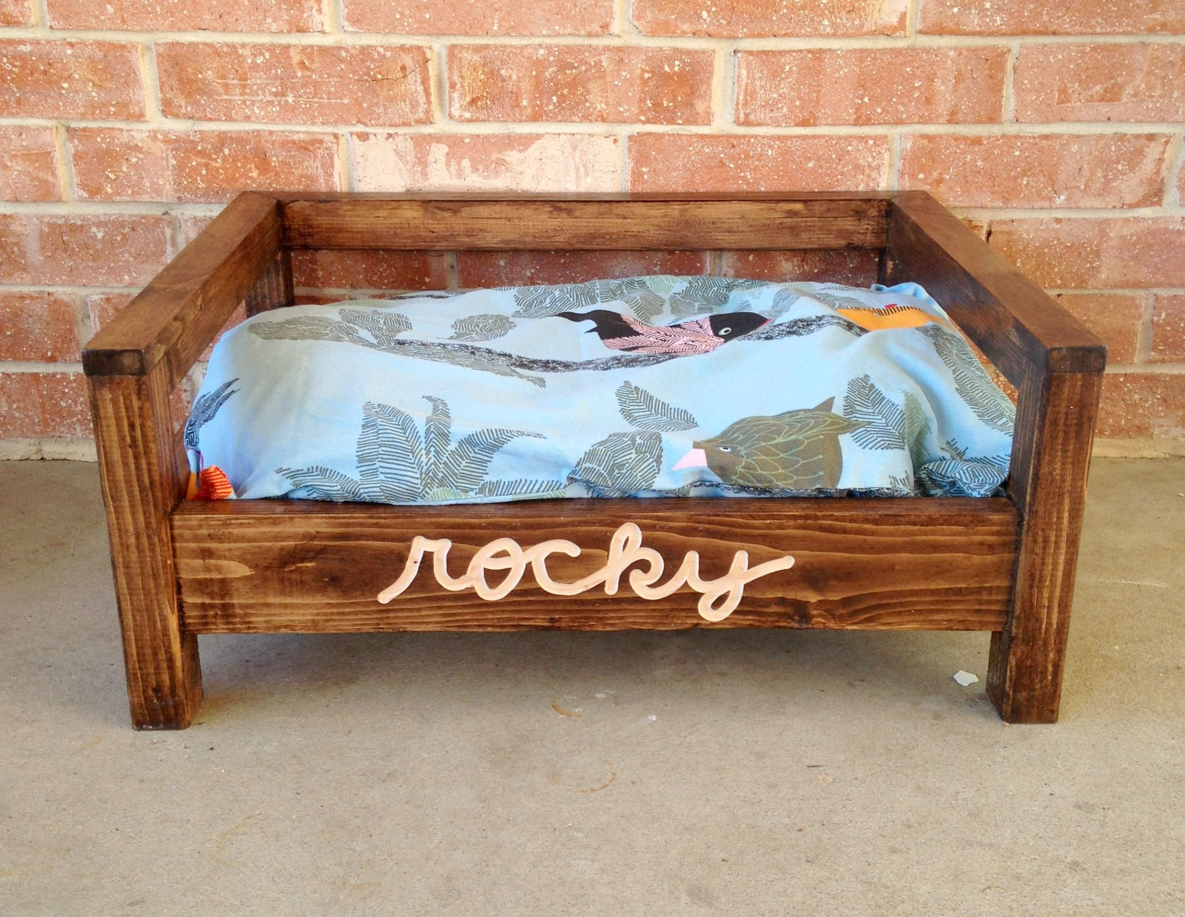 How To Make A Doggy Bed From King Size Pillow
