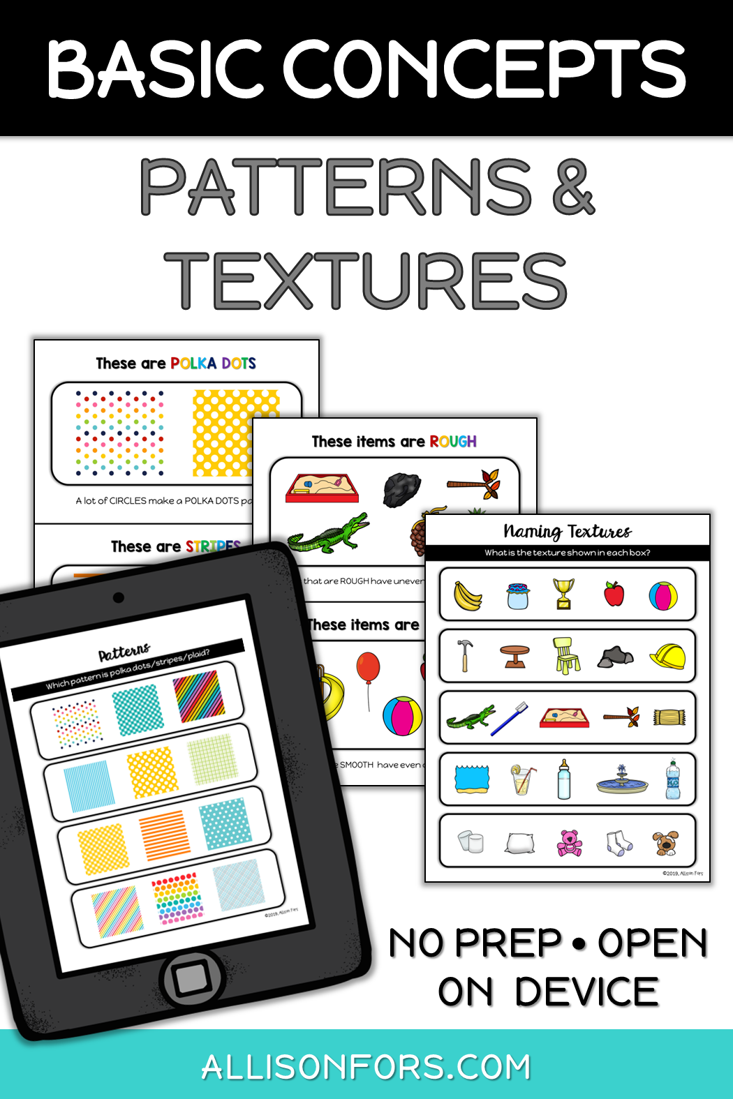 Patterns And Textures Speech Therapy Speech Therapy Speech Therapy Materials Speech Therapy Activities [ 1575 x 1050 Pixel ]