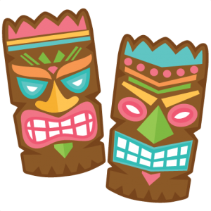 new release tiki set right now this is in the new svgs rh pinterest co uk tiki mask clipart tiki clip art free downloads