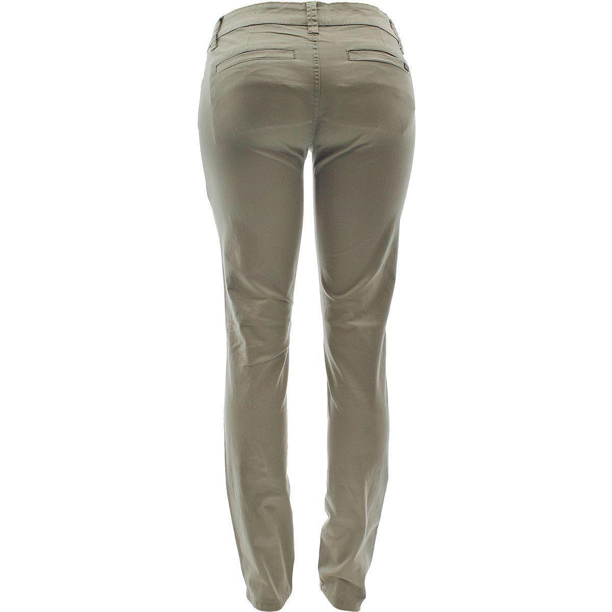 b1a2628d80e Zana Di - Women s Ext Tab Twill Pants - Khaki