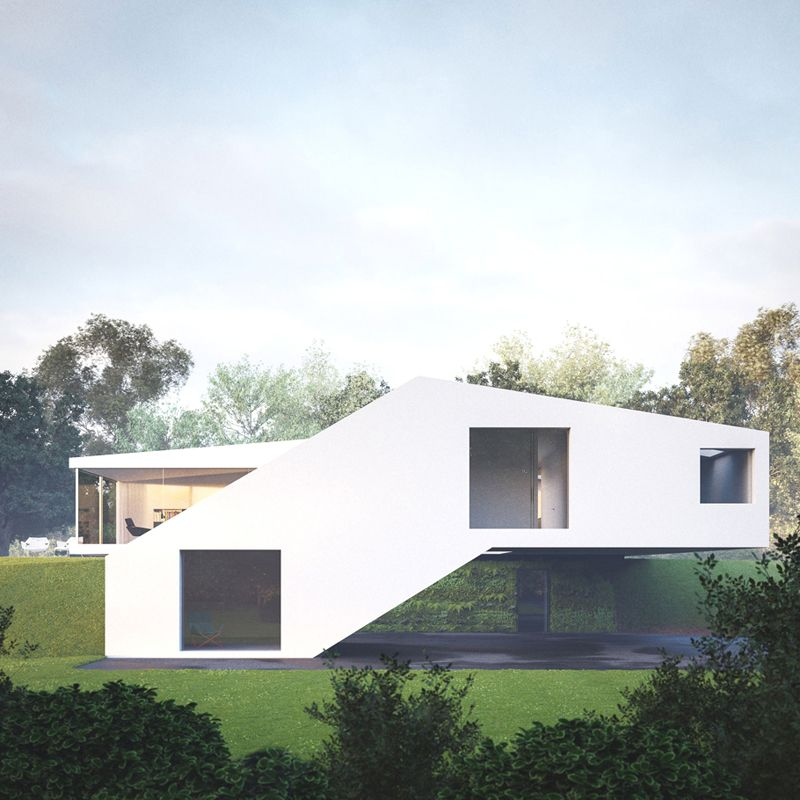 Striking House Hafner in Buschelhof, Germany | Miss Design ...
