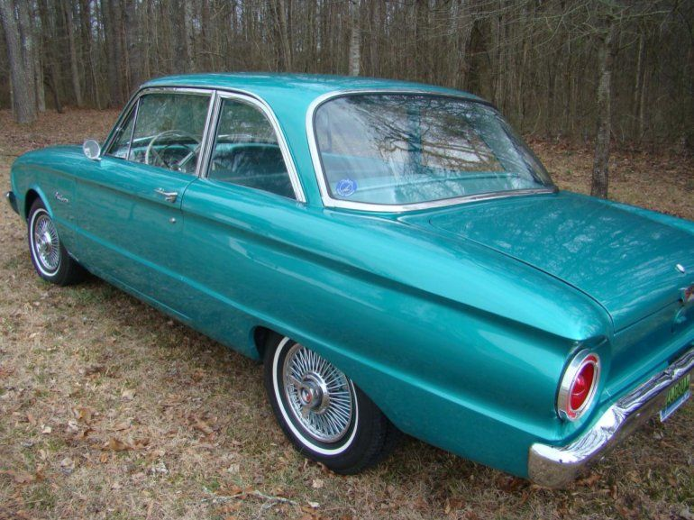 1960 Ford Falcon 2 Door Coupe Ford Falcon Ford Car Ford