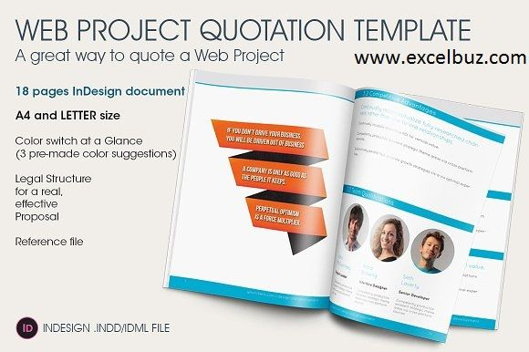 Excelbuz is all about providing {quotation and sale invoice - website proposal template