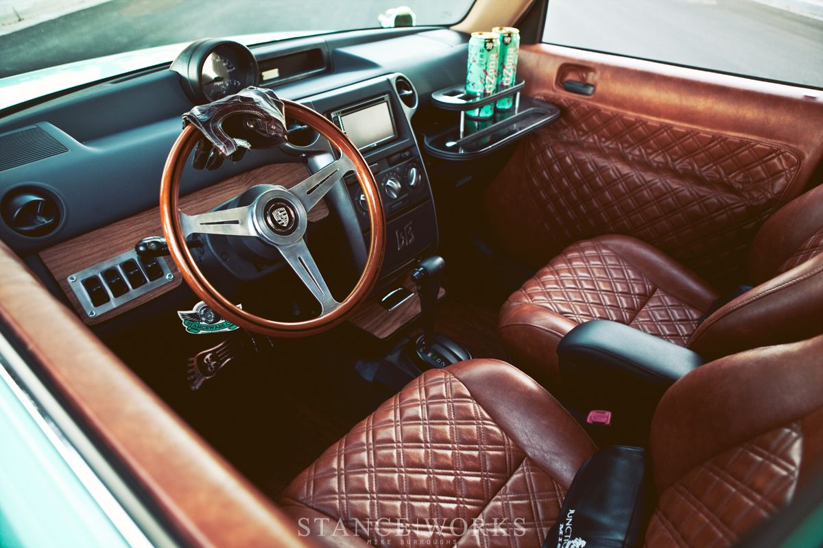 Car interior brown - With A Custom Respray Interior And Airride Suspension It S One Worth Checking Out