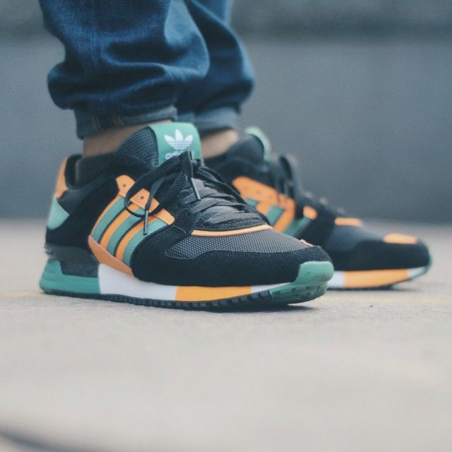 6ed038201653a adidas originals ZX 630  Black Green Yellow
