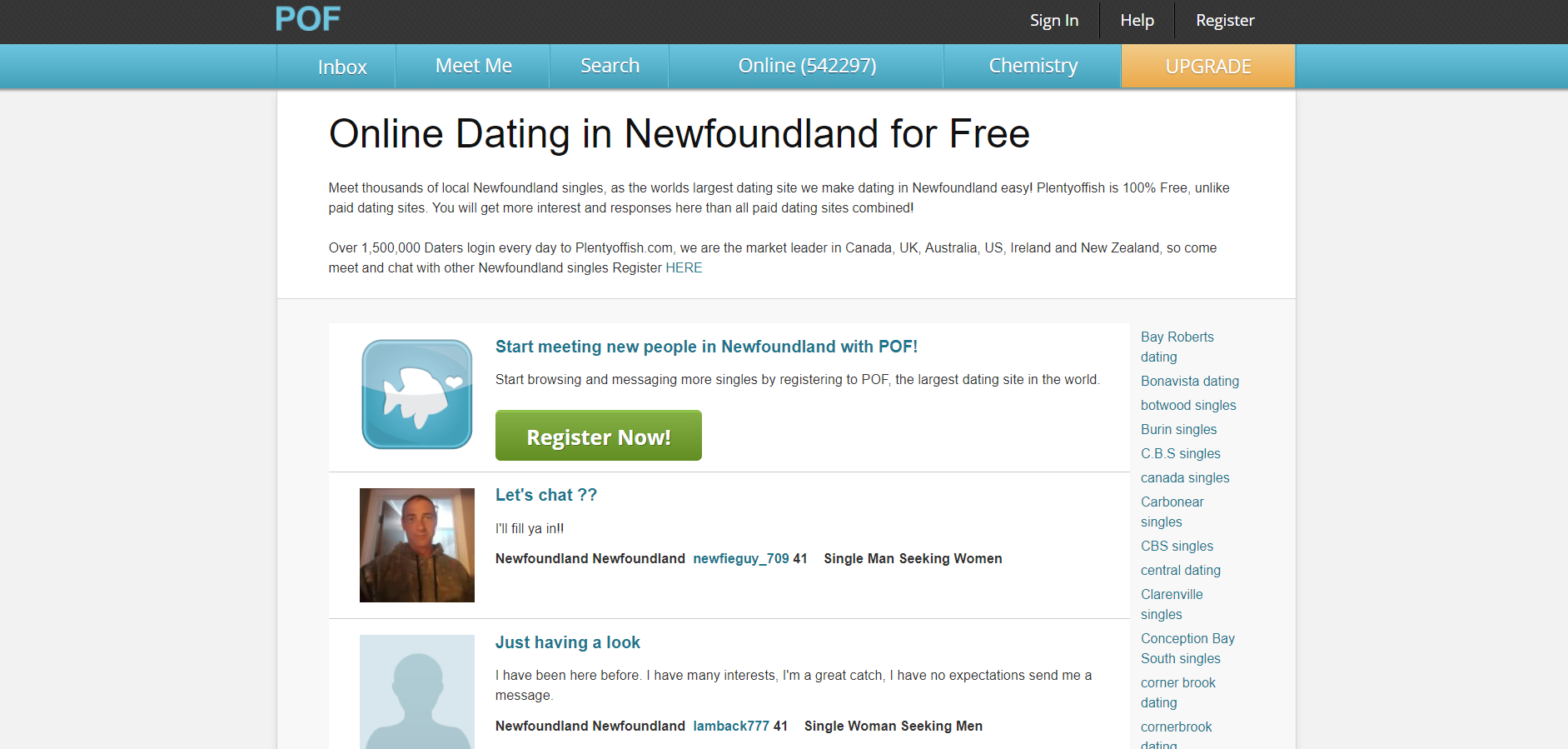 Online dating site Afrikassa