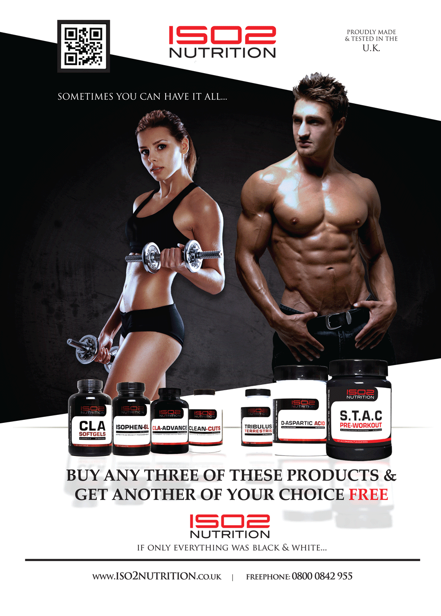 Advert In Magazine For Uk Sports Nutrition Brand With Their Redesign Launch Nutrition Branding Nutrition Healthy Hormones