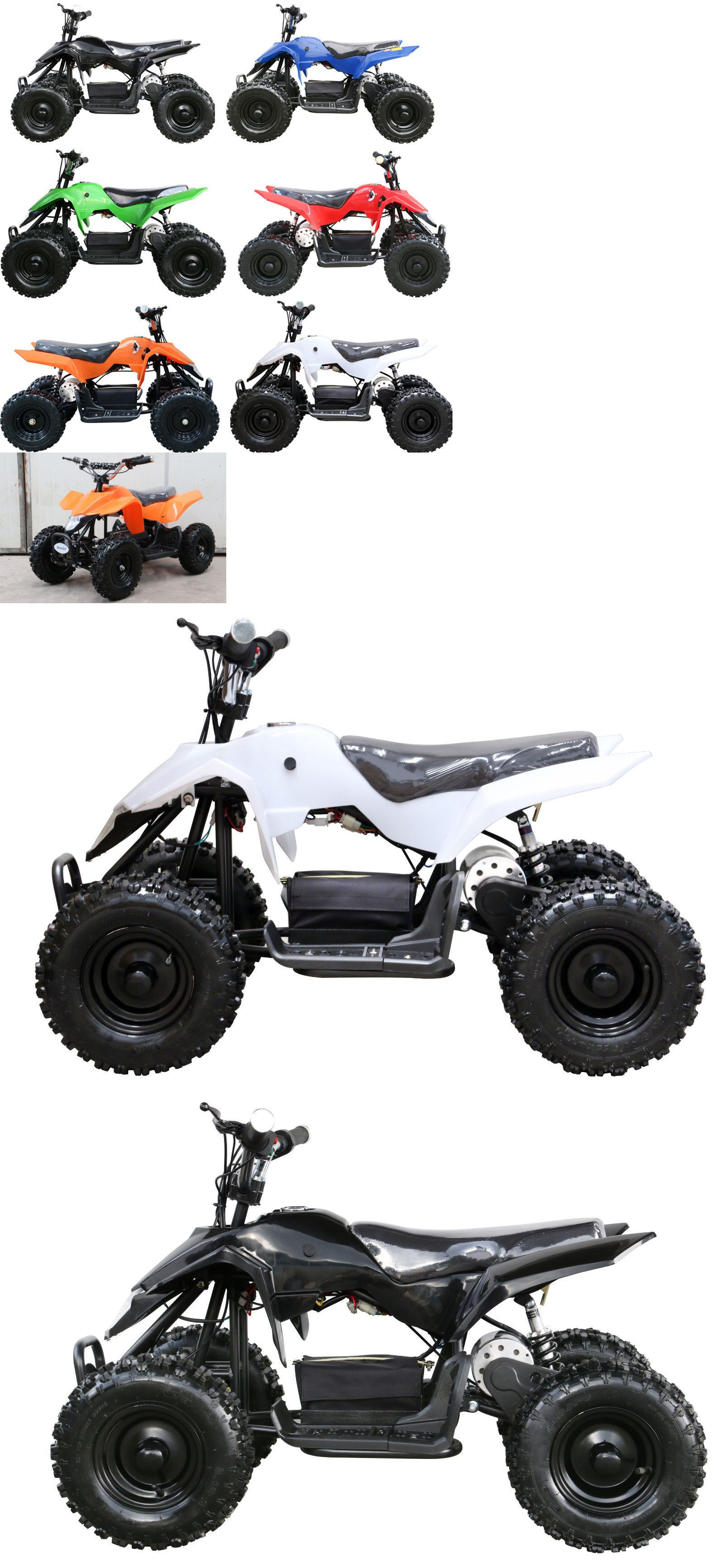 Complete Go-Karts and Frames 64656: 500W Kids Youth Atv Ride-On Toy ...