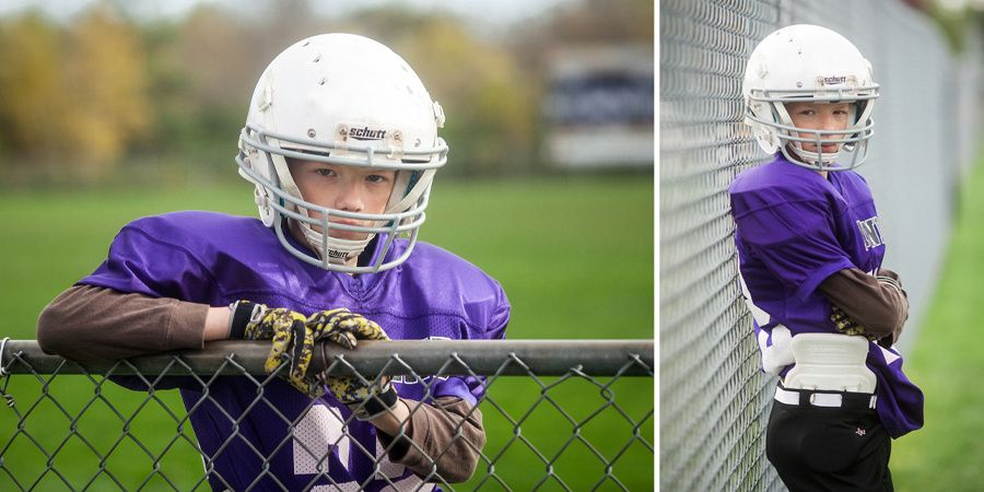 Youth Football Youth Football Photographing Kids Sports Photograph