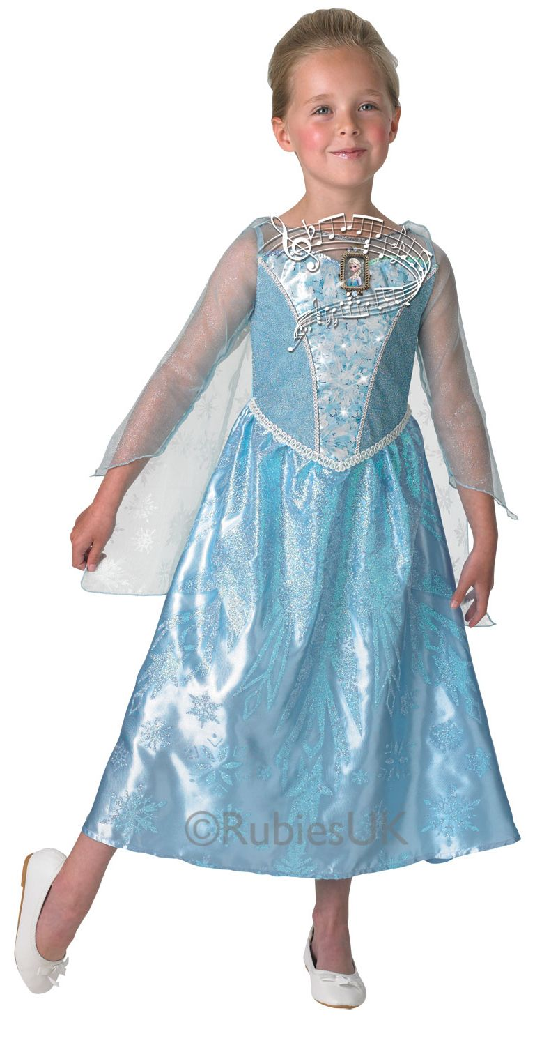 Girls Musical & Light Up Elsa Costume | Disney frozen, Costumes and ...