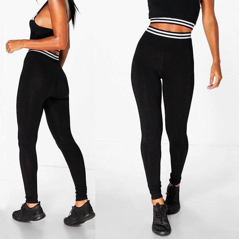 37482ebb83 HIRIGIN 2017 Newest Women High Waist Fitness Leggings Active Long Pants  Workout Trousers
