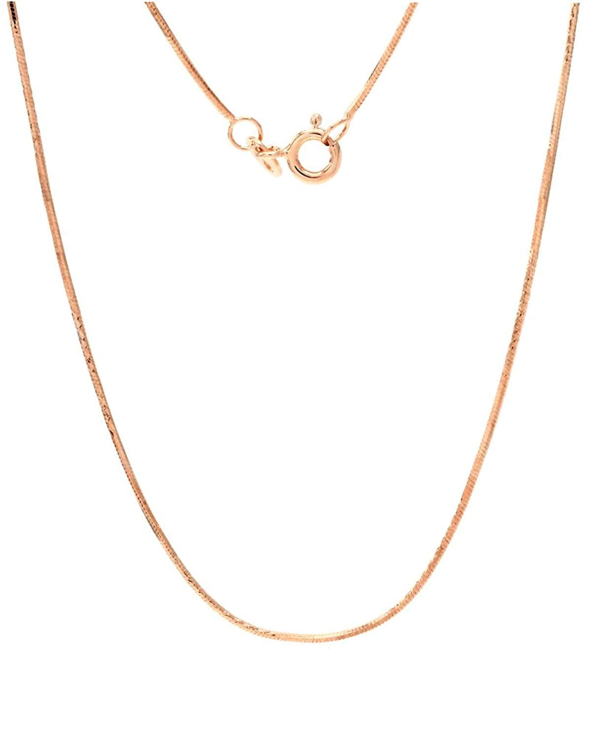 ASHINE 0.8mm Italian Box Chain Necklace 925 Sterling Silver 16-30 with Silver Polishing Cloth