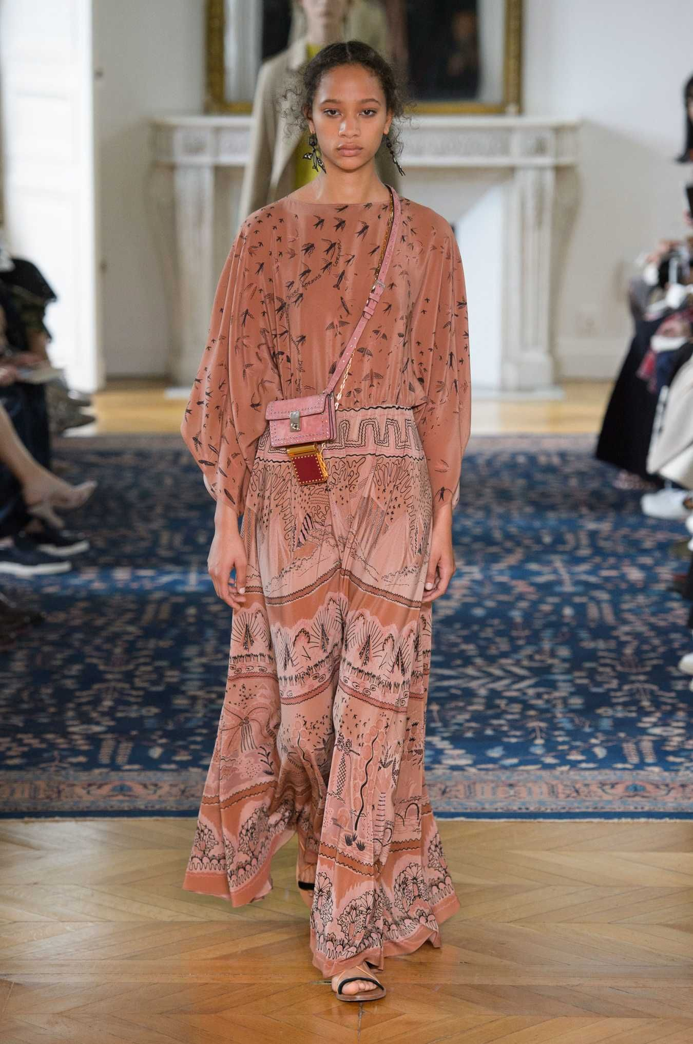 A look from the Valentino spring 2017 collection. Photo: Imaxtree.