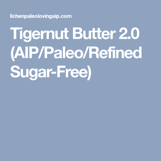 Autoimmune Paleo Tigernut Butter Shortbread   Primal
