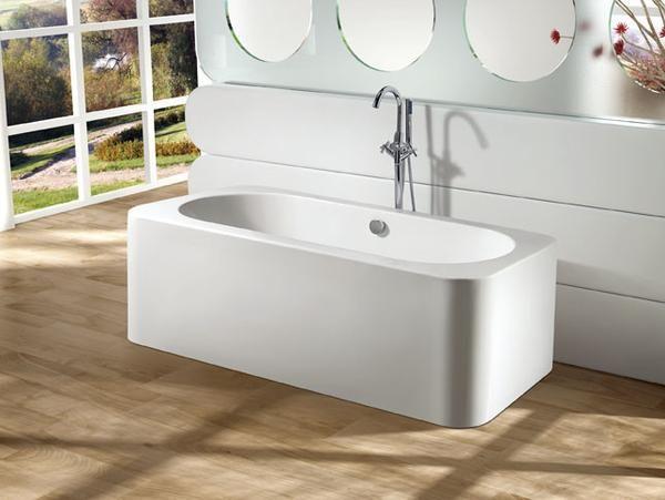 """kingston brass aqua eden 71"""" contemporary freestanding acrylic"""