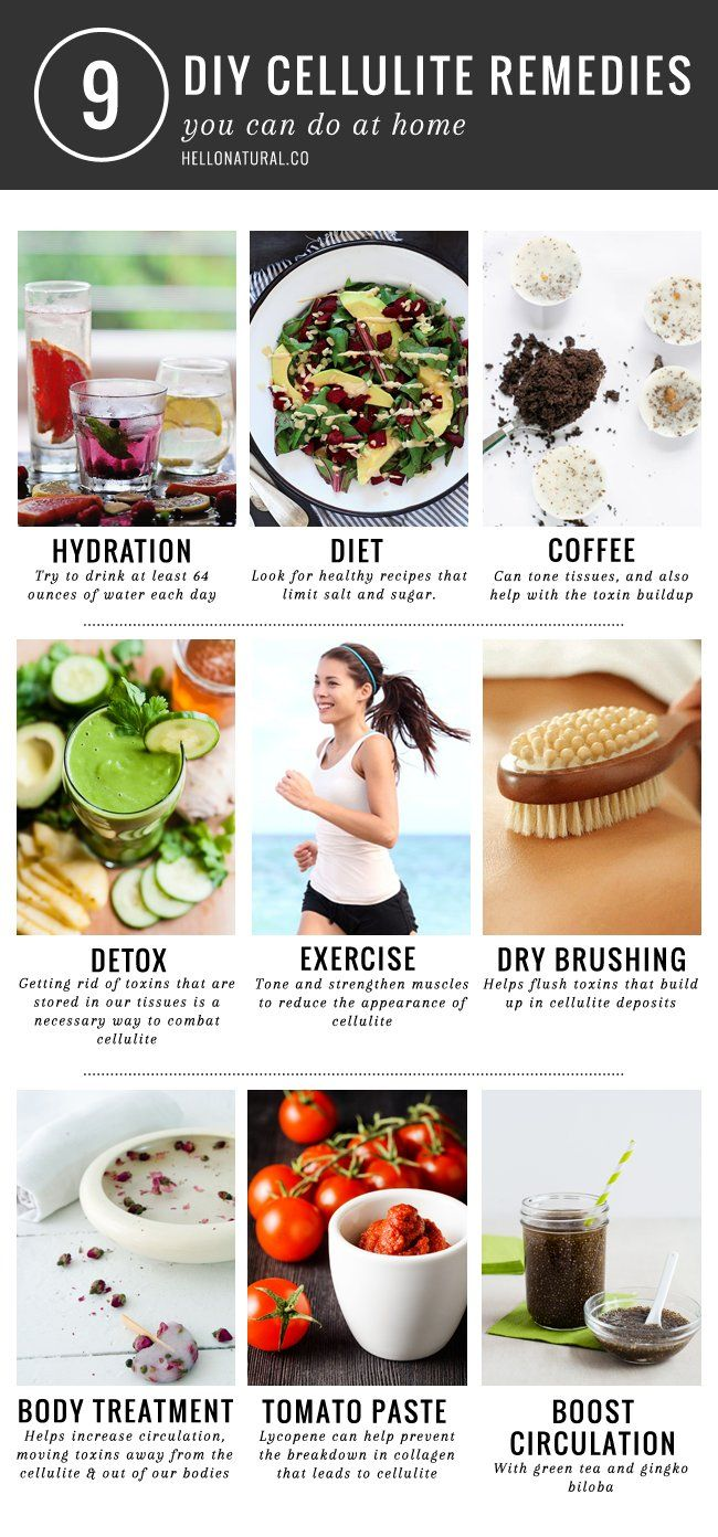 Diy Cellulite Remedies