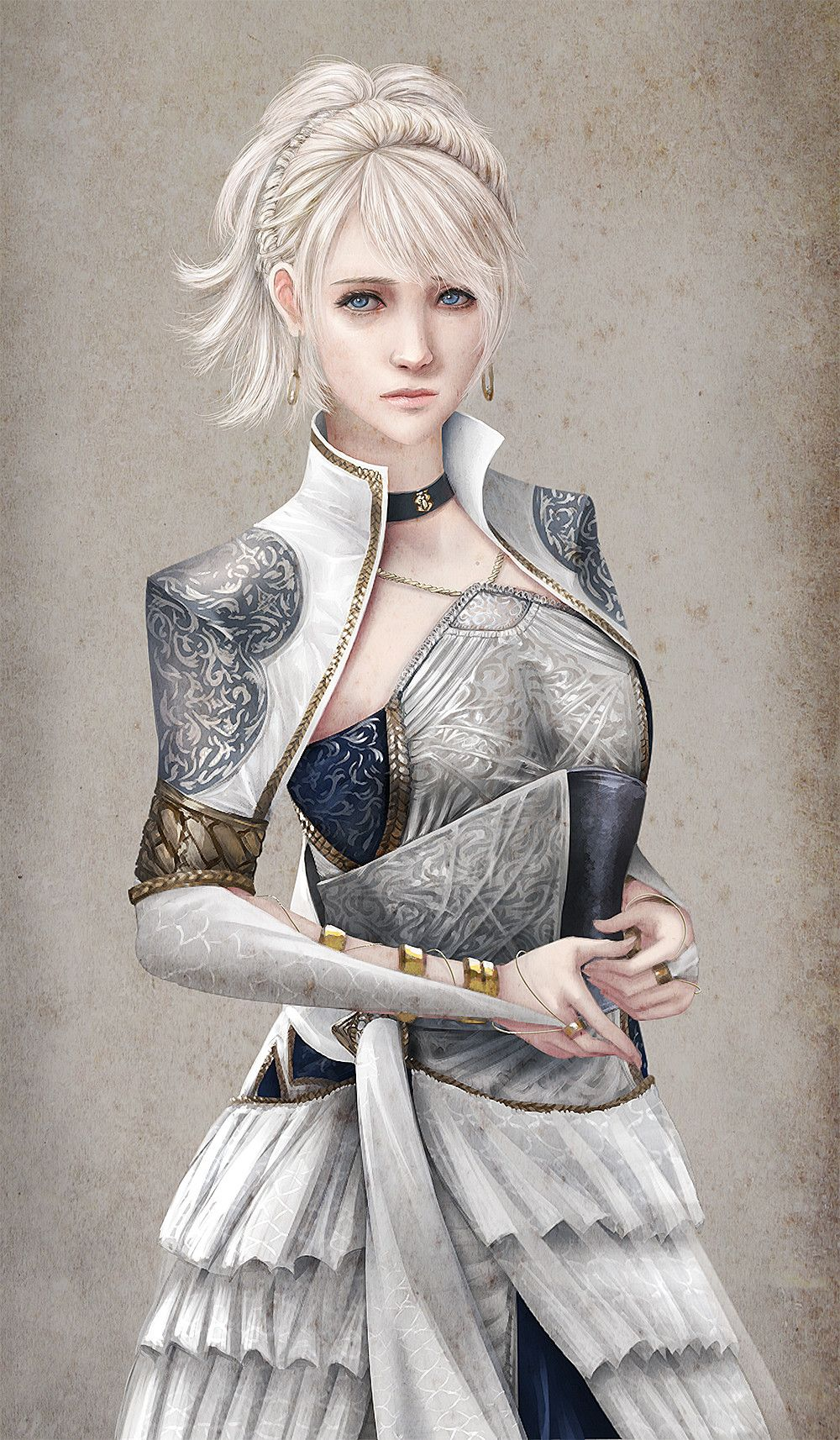 Luna Kingsglaive Final Fantasy Xv Fan Art By Mawa Setiawan