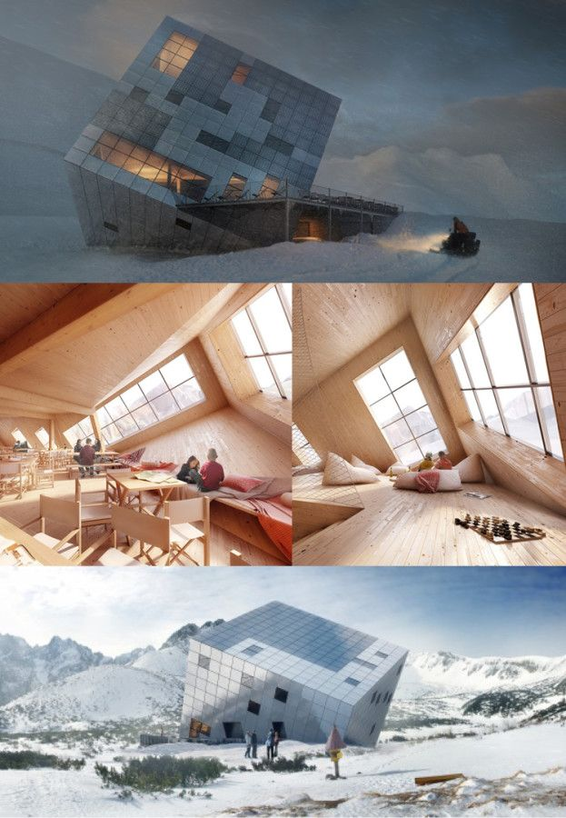15 Amazing Future World Architecture that We Cannot Wait to See- at Dzzyn.com Kezmarska Hut